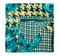 Dámský šátek, mořská modrá, 84-7D-W01-X01, Obrázek 1