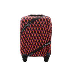 Kisméretű bőrönd takaró, narancs-fekete, 56-30-031-55, Fénykép 1