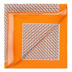 Díszzsebkendő, narancs, 87-7P-002-X1, Fénykép 1