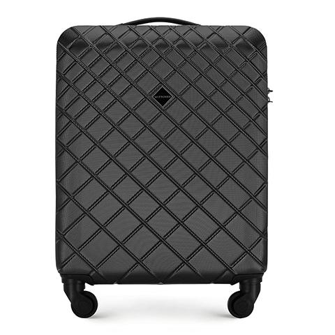 Kabinový cestovní kufr, ocel - černá, 56-3A-551-30, Obrázek 1