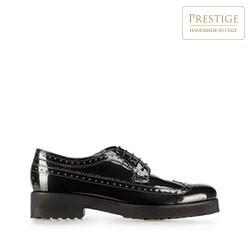 Lakované dámské boty, olivový, 91-D-101-8-36, Obrázek 1