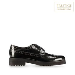 Lakované dámské boty, olivový, 91-D-101-8-37_5, Obrázek 1