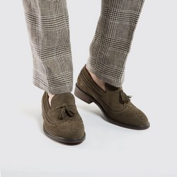 Pánské boty, olivový, 86-M-810-Z-43, Obrázek 1