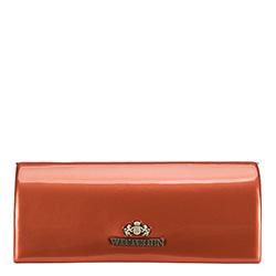 Brillenetui aus Lackleder, orange, 25-2-164-6, Bild 1