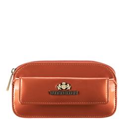 Schlüsseletui aus Lackleder, orange, 25-2-265-6, Bild 1