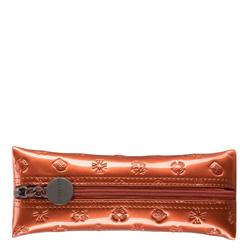 Schlüsseletui aus Lackleder mit Monogramm, orange, 34-2-135-6S, Bild 1