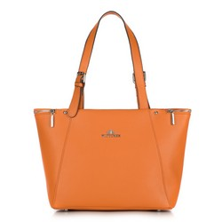 Shopper-Tasche, orange, 87-4E-430-6, Bild 1