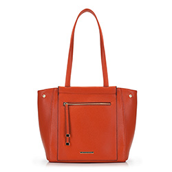 Shopper-Tasche, orange, 88-4Y-406-6, Bild 1