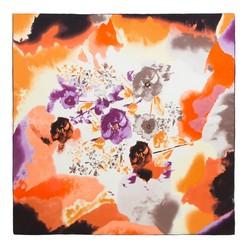 Платок женский, оранжево-фиолетовый, 87-7D-S21-X3, Фотография 1