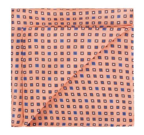 Нагрудный платок, оранжево-коричневый, 82-7P-004-Y, Фотография 1