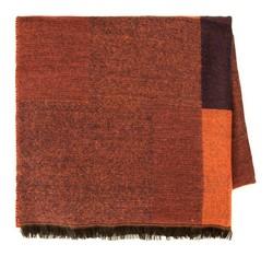 Шарф женский, оранжево-коричневый, 85-7D-X98-X3, Фотография 1