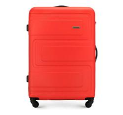 Большой чемодан, коралловый, 56-3A-633-30, Фотография 1