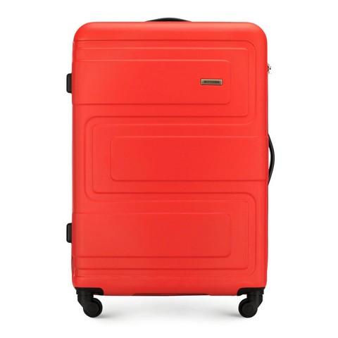 Большой чемодан, оранжевый, 56-3A-633-85, Фотография 1