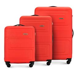 Комплект чемоданов, коралловый, 56-3A-63S-30, Фотография 1
