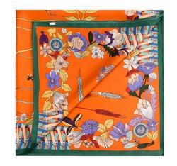 Платок женский, оранжевый, 85-7D-S20-X7, Фотография 1