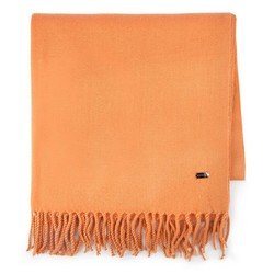 Шарф женский, оранжевый, 87-7D-X99-6, Фотография 1