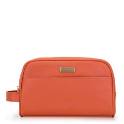 Женская косметичка с боковой ручкой, оранжевый, 92-3P-507-6, Фотография 1