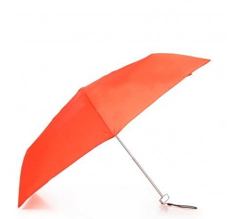 Женский маленький механический зонт, оранжевый, PA-7-168-X3, Фотография 1
