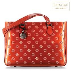 Dámská kabelka, oranžová, 34-4-098-6L, Obrázek 1