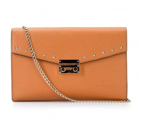 Dámská kabelka, oranžová, 87-4-261-8, Obrázek 1