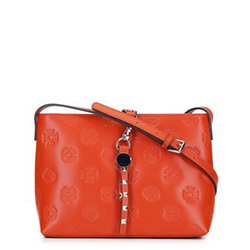 Dámská kabelka, oranžová, 92-4E-691-6, Obrázek 1