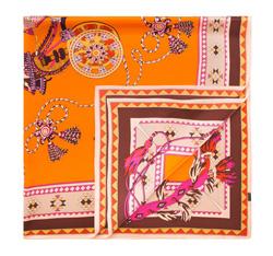 Dámský šátek, oranžová, 84-7D-S31-X09, Obrázek 1