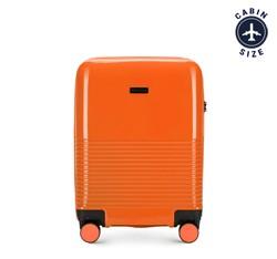 Kabinový cestovní kufr, oranžová, 56-3H-571-55, Obrázek 1