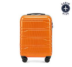 Kabinový cestovní kufr, oranžová, 56-3P-881-55, Obrázek 1