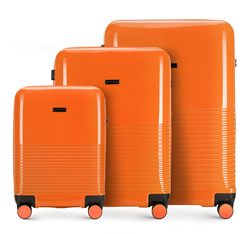 Sada zavazadel, oranžová, 56-3H-57S-55, Obrázek 1