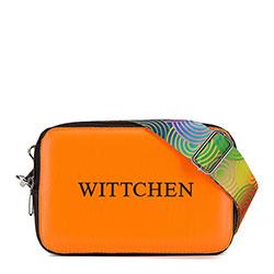 Dámská kabelka, oranžově černá, 90-4Y-300-6, Obrázek 1