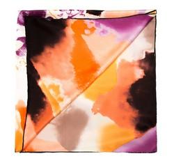 Dámský šátek, oranžově-fialová, 85-7D-S20-X4, Obrázek 1