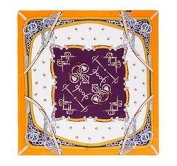 Dámský šátek, oranžově-fialová, 86-7D-S13-X5, Obrázek 1