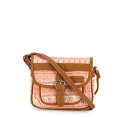 Dámská kabelka, oranžově-hnědá, 82-4Y-514-6, Obrázek 1