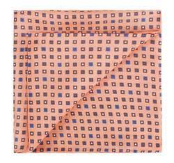 Kapesníček do saka, oranžově-hnědá, 82-7P-004-Y, Obrázek 1