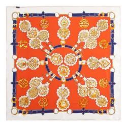 Dámský šátek, oranžově žlutá, 86-7D-S14-X19, Obrázek 1