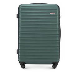 Nagy bőrönd, zöld, 56-3A-313-85, Fénykép 1