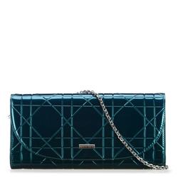 Női estélyi táska, pávakék, 91-4Y-603-Z, Fénykép 1