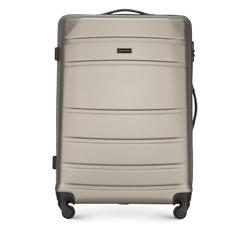 ABS nagy bőrönd bordás, pezsgő, 56-3A-653-86, Fénykép 1