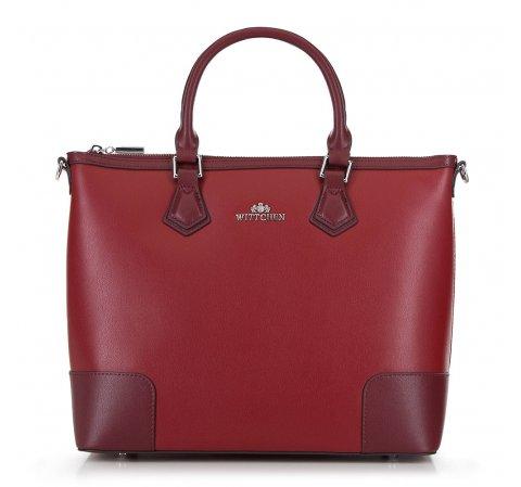 Bevásárló táska, piros, 90-4E-610-9, Fénykép 1