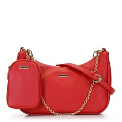 Croissant-táska levehető tokkal, piros, 92-4Y-314-3, Fénykép 1