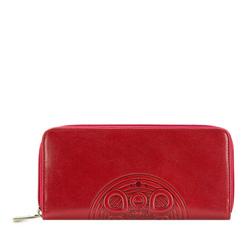 Pénztárca, piros fekete, 04-1-393-31, Fénykép 1