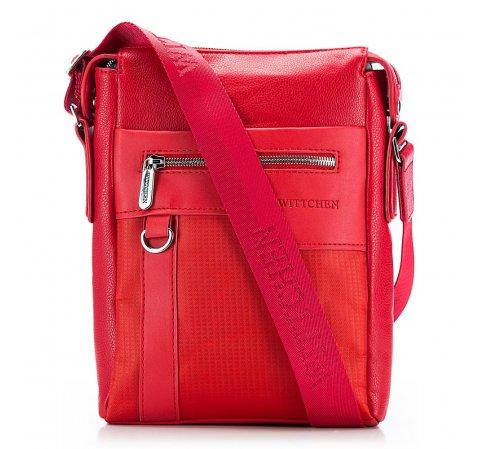 futár táska, piros, 86-4P-100-9, Fénykép 1
