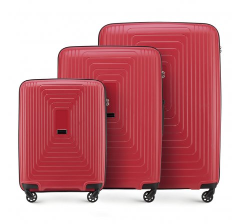 Háromrészes tok, piros, 56-3T-78S-00, Fénykép 1
