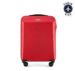 Kabinbőrönd  polikarbonátból egyenes, piros, 56-3P-971-31, Fénykép 1