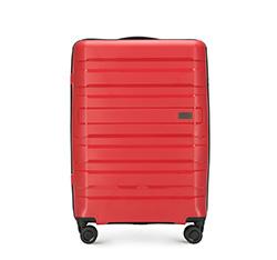 Közepes bőrönd, piros, 56-3T-752-30, Fénykép 1
