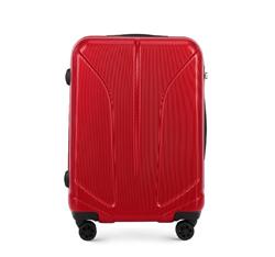 Közepes bőrönd polikarbonátból, piros, 56-3P-812-30, Fénykép 1