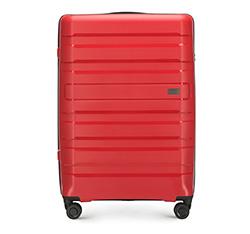 Nagy bőrönd, piros, 56-3T-753-30, Fénykép 1