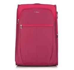 Nagy bőrönd, piros, V25-3S-233-31, Fénykép 1
