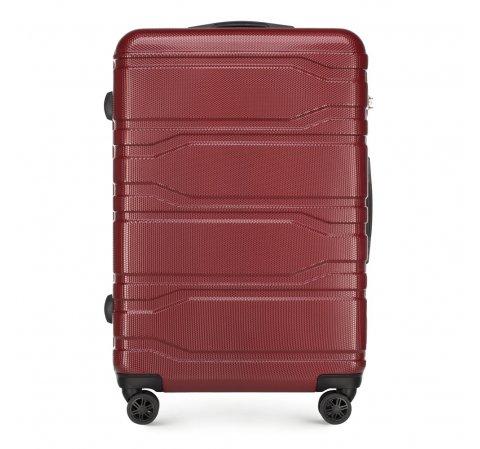 Nagy bőrönd, piros, 56-3P-983-11, Fénykép 1