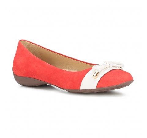 Női cipő, piros, 88-D-704-3-37, Fénykép 1